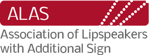 Association of Lipspeakers With Additional Sign Logo